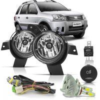 Kit-Farol-de-Milha-Auxiliar-Ford-Ecosport-2008-a-2012-Botao-Modelo-Original-Com-Super-Led-HB4-