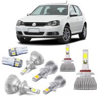 Kit-Lampadas-Super-Led-HeadLight-6000k-com-reator-Volkswagen-Golf-2008-a-2013-com-Lampada-Pingo-