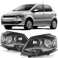 Farol-Volkswagen-Spacefox-2011-2012-2013-2014-Fox-Crossfox-Mascara-Negra-Foco-Duplo