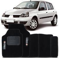 Tapete-Carpete-Preto-Renault-Clio-1996-a-2012-Vulcanizado-