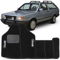 Tapete-Carpete-Preto-Volkswagen-Parati-Quadrada-Turbo-1983-a-1996-Vulcanizado
