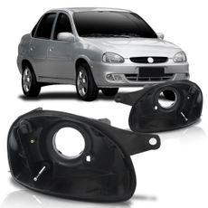 Carcaca-do-Farol-Principal-Chevrolet-Corsa-2000-2001-2002-2003-2004-2005-2006-2007-2008-2009-2010-Foco-Simples