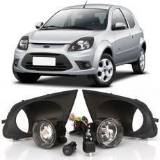 Kit-Farol-de-Milha-Auxiliar-Ford-Ka-2012-2013-Com-Molduras-Botao-Original
