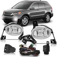 Kit-Farol-de-Milha-Auxiliar-Honda-CR-V-2010-2011-Botao-Modelo-Original