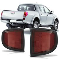 Aplique-Defletor-do-Para-choque-Traseiro-Mitsubishi-L200-Triton-2008-2009-2010-2011-2012