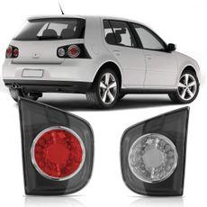 Lanterna-Traseira-Volkswagen-Golf-2009-2010-2011-2012-2013-Tampa-Porta-Malas-Moldura-Cinza-com-Retroneblina