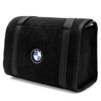 Bolsa-De-Ferramentas-Carpete-Preto-Para-Linha-BMW-Logo-Bordado
