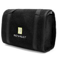 Bolsa-De-Ferramentas-Carpete-Preto-Para-Linha-Renault-Logo-Bordado