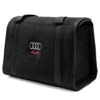 Bolsa-De-Ferramentas-Carpete-Preto-Para-Linha-Audi-Logo-Bordado