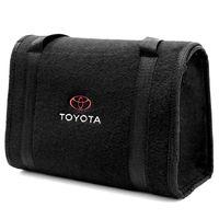 Bolsa-De-Ferramentas-Carpete-Preto-Para-Linha-Toyota-Logo-Bordado