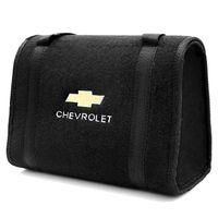 Bolsa-De-Ferramentas-Carpete-Preto-Para-Linha-Chevrolet-Logo-Bordado