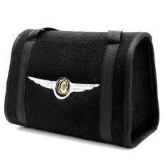 Bolsa-De-Ferramentas-Carpete-Preto-Para-Linha-Chrysler-Logo-Bordado