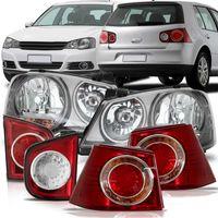Par-Farol-Cromomix---Par-Lanterna-Traseira-Porta-Malas---Par-Lanterna-Traseira-Canto-Volkswagen-Golf-2008-2009-2010-2011-2012-2013-Bicolor