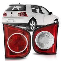 Lanterna-Traseira-Volkswagen-Golf-2009-2010-2011-2012-2013-Tampa-Porta-Malas-Bicolor-Moldura-Vermelha