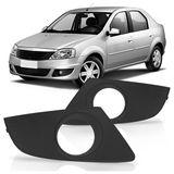 Moldura-Grade-do-Milha-Para-choque-Renault-Logan-2011-2012-2013
