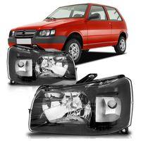 Farol-Fiat-Uno-Fiorino-2005-2006-2007-2008-2009-2010-2011-2012-2013-Mascara-Negra