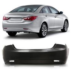 Para-choque-Traseiro-Hyundai-Sonata-2011-2012-2013-2014-Liso