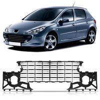Grade-Moldura-Para-choque-Dianteiro-Peugeot-307-2007-2008-2009-2010-2011-2012-Encaixes-Frisos-e-Acabamentos