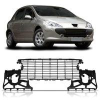 Grade-Moldura-Para-choque-Dianteiro-Peugeot-307-2007-2008-2009-2010-2011-2012-Encaixes-Acabamentos