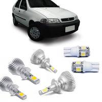 Kit-Lampada-Super-Led-Palio-G2-2001-A-2006-Weekend-Siena-Strada-Com-Lampada-Pingo