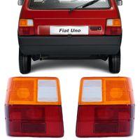 Par-Lente-Lanterna-Traseira-Uno-1985-A-2004-Tricolor