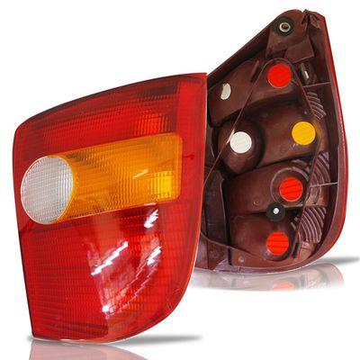 Combo-Palio-G1-1996-A-2000-Parachoque-Traseiro---Par-Lanterna-Traseira-Tricolor