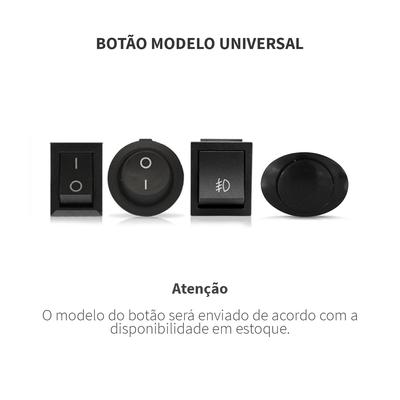 Kit-Farol-De-Milha-Retangular-Ambar-Universal