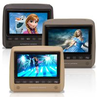 Dvd-Player-Tela-Encosto-De-Cabeca-7-Polegadas-Lcd-Com-Game-Usb-Sd-Botoes-Touchcreen