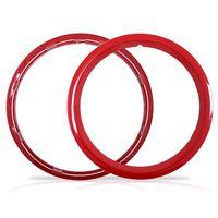 Aro-Vermelho-Sobre-Roda-Aro-16-Polegadas-Universal-Fixado-Por-Pressao-