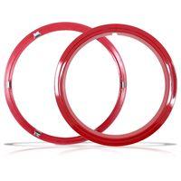 Aro-Vermelho-Sobre-Roda-Aro-15-Polegadas-Universal-Fixado-Por-Pressao