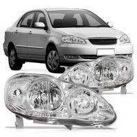 Farol-Toyota-Corolla-2003-2004-2005-2006-2007-2008-2009-Mascara-Cromada-