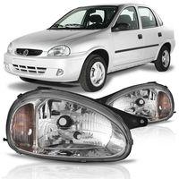 Farol-Corsa-Pickup-Corsa-1994-A-2002-Classic-2003-A-2010-Carcaca-Preta