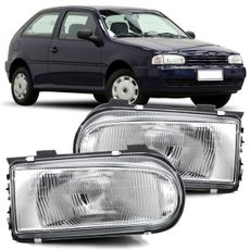 Farol-Volkswagen-Gol-Bola-1995-1996-1997-1998-1999-Parati-Saveiro-G2-Gol-Special-2000-2001-2002-2003-2004-2005-Foco-Simples-
