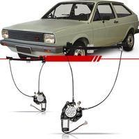 Maquina-De-Vidro-Eletrico-Dianteira-Gol-G1-1980-A-1996-Voyage-2-Portas-Motor-Mabuchi-