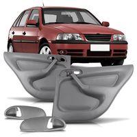 Par-Forro-de-Porta-Traseira-Volkswagen-Gol-Parati-G3-1998-A-2004-4-Portas-Cinza