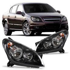 Farol-Vectra-Sedan-2006-A-2008-Foco-Duplo-Mascara-Negra-Canhao-Cromado-