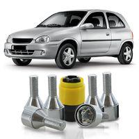 Jogo-De-Parafuso-Antifurto-M12-x-150-Roda-Corsa-1994-A-2010-51mm-Com-Chave-Codificada