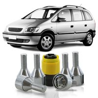 Jogo-De-Parafuso-Antifurto-M12-x-150-Roda-Zafira-2001-A-2012-51mm-Com-Chave-Codificada