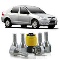 Jogo-De-Parafuso-Antifurto-M12-x-150-Roda-Prisma-2007-A-2012-51mm-Com-Chave-Codificada-