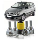 Jogo-De-Parafuso-Antifurto-M12-x-150-Roda-Scenic-2000-A-2011-51mm-Com-Chave-Codificada