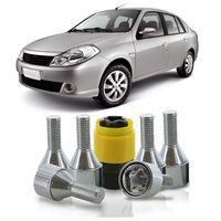 Jogo-De-Parafuso-Antifurto-M12-x-150-Roda-Symbol-2009-A-2013-51mm-Com-Chave-Codificada