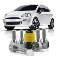Jogo-De-Parafuso-Antifurto-M12-x-125-Roda-Punto-2006-A-2008-51mm-Com-Chave-Codificada