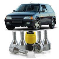 Jogo-De-Parafuso-Antifurto-M12-x-125-Roda-AX-1992-A-1995-51mm-Com-Chave-Codificada