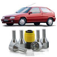 Jogo-De-Parafuso-Antifurto-M12-x-125-Roda-ZX-1992-A-1998-51mm-Com-Chave-Codificada
