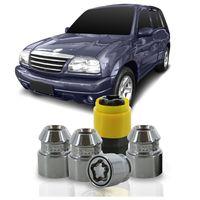 Jogo-De-Porca-Antifurto-M12-x-125-Tracker-2004-A-2012-33mm-Com-Chave-Codificada-