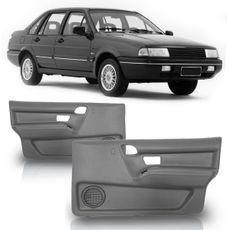 Forro-Porta-Dianteira-Santana-1991-A-1998-Quantum-4-Portas-Cinza-com-Tela