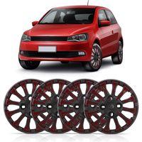Jogo-Calota-Aro-13-Thunder-para-Linha-Volkswagen-Parafuso-Cubo-Baixo-4-Pecas-