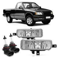Par-Farol-De-Milha-Auxiliar-S10-1995-A-1998-Blazer-Com-Lampada-Automotiva-Halogena-Hb4-