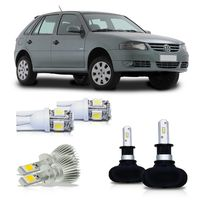 Kit-Gol-2006-A-2014-Parati-Saveiro-G4-Ultra-Led-H3---Super-Led-H4-e-Pingo-Led