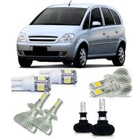 Kit-Meriva-2002-A-2012-Super-Led-H1---Ultra-Led-H3---Super-Led-H7-e-Pingo-Led